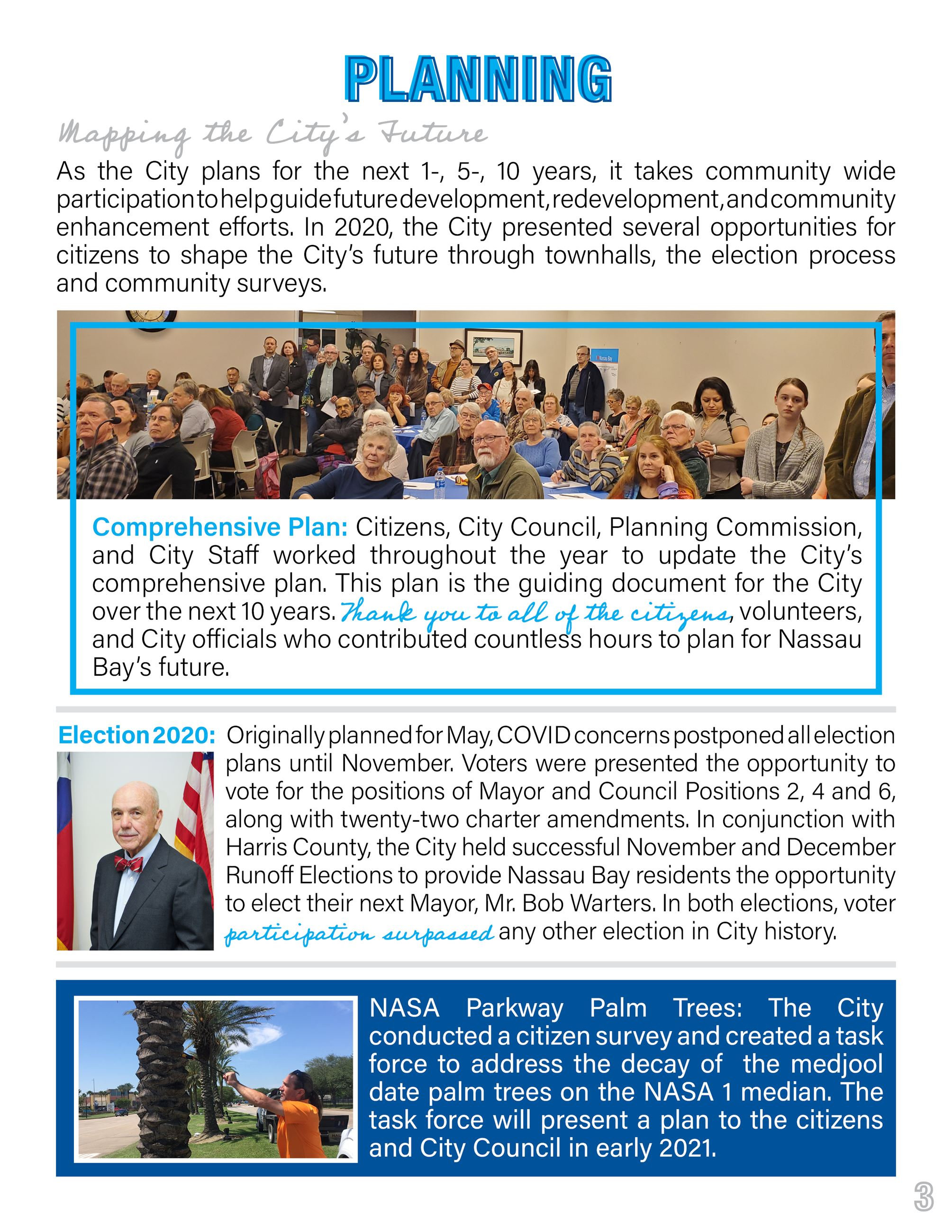 2020 Nassau Bay Year in Review Page 3