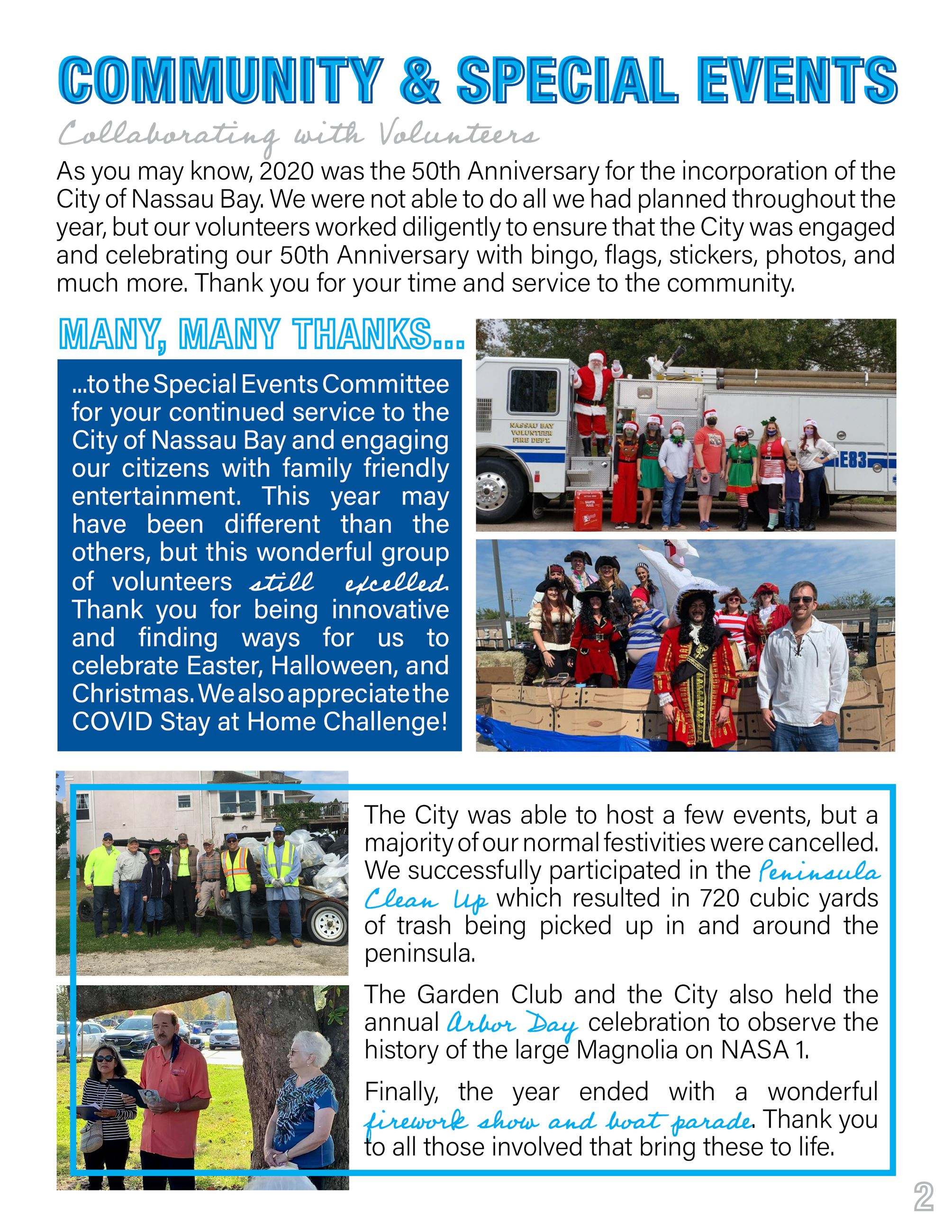 2020 Nassau Bay Year in Review Page 2