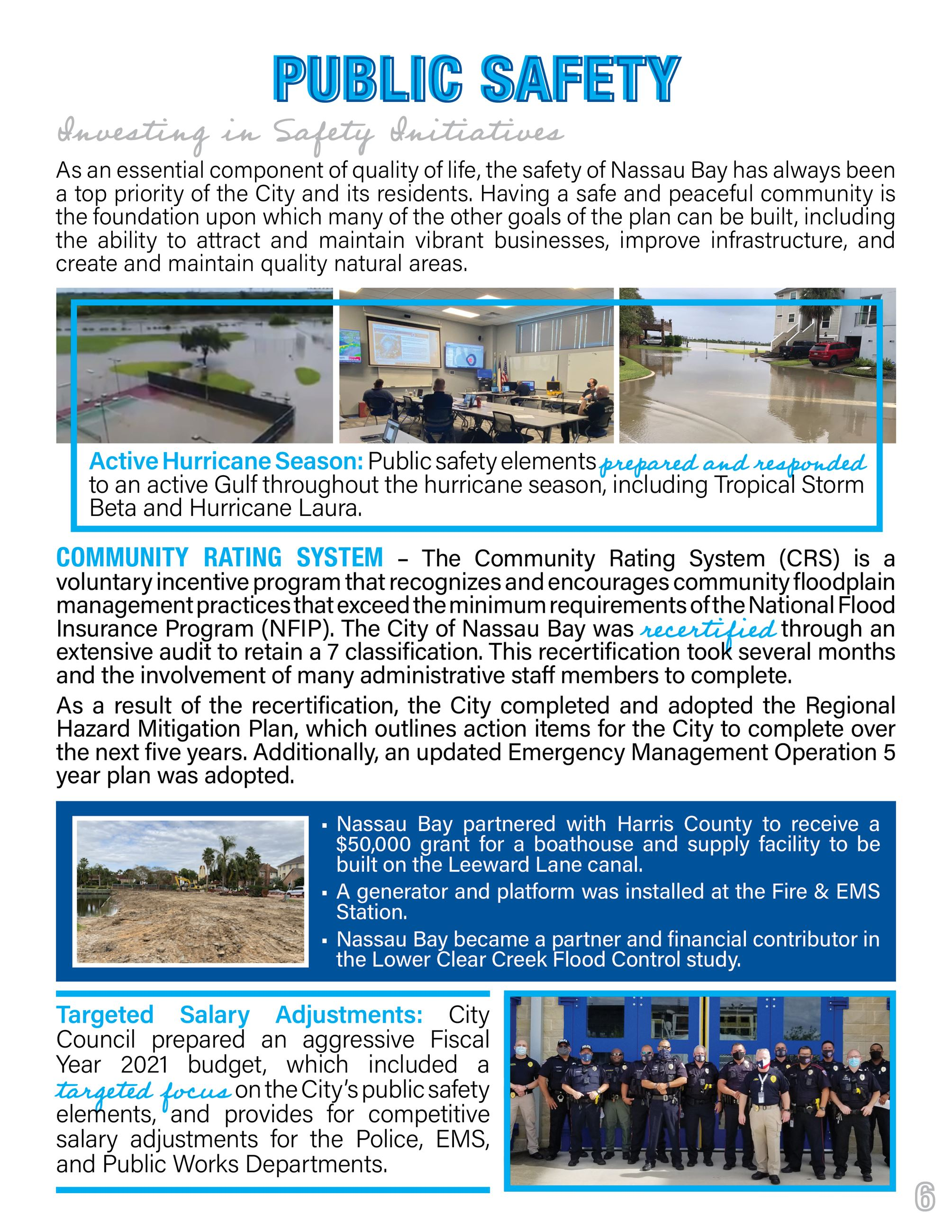 2020 Nassau Bay Year in Review Page 6