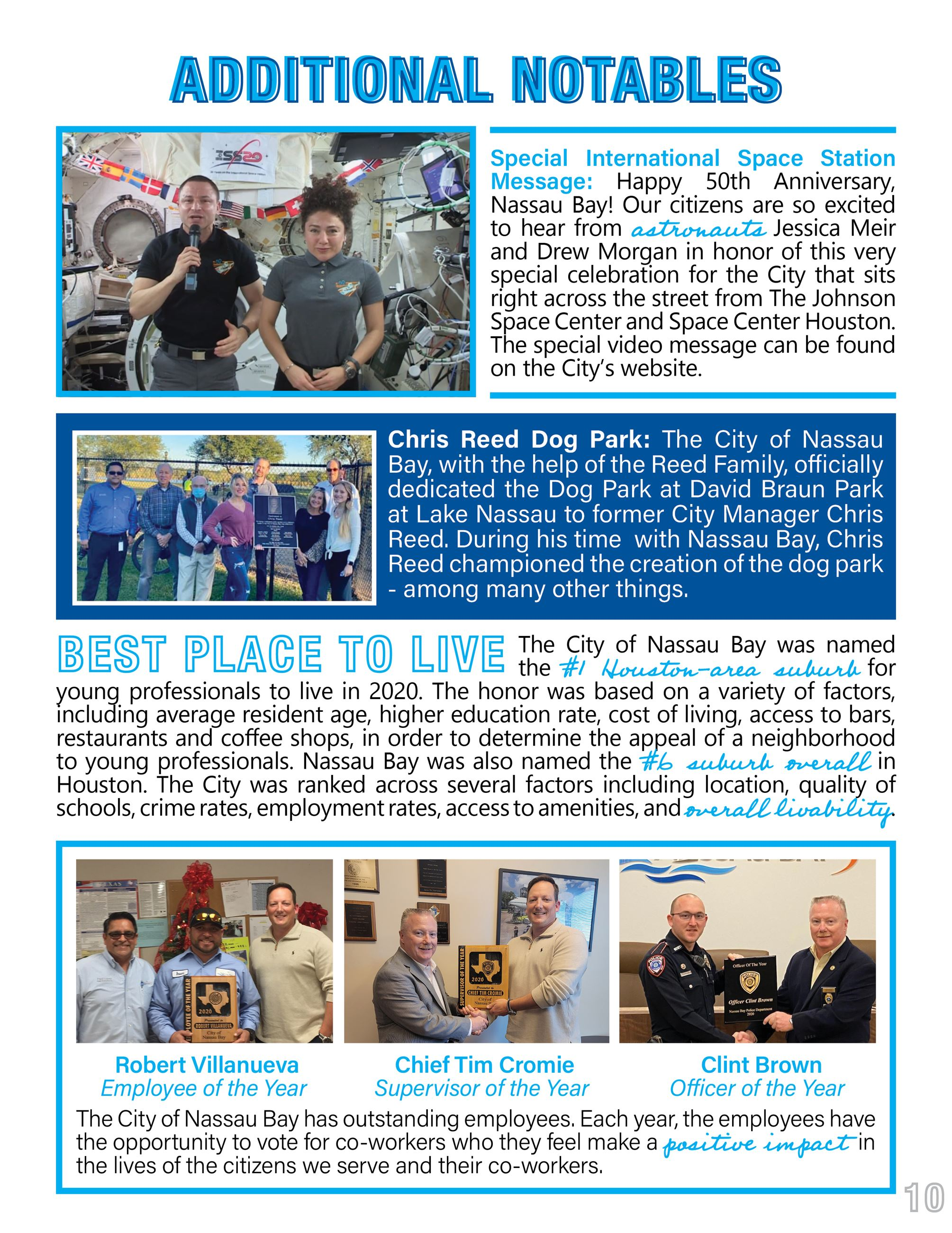 2020 Nassau Bay Year in Review Page 10